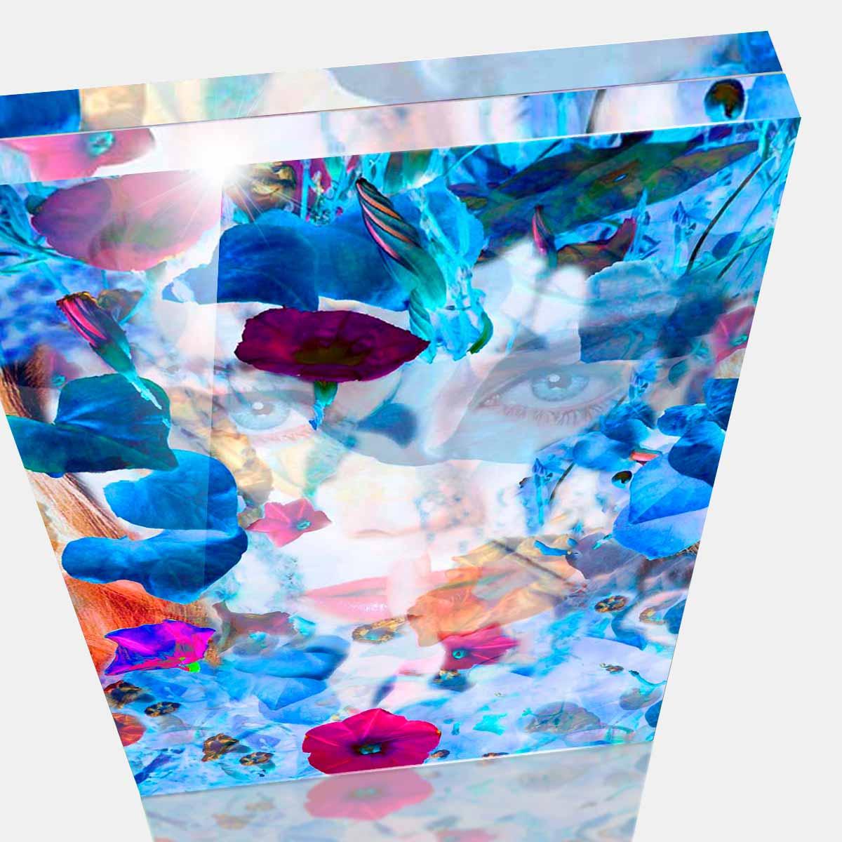 Cornelia Hagmann Contemporary Artist Artwork Acrylic Glass Sculpture La Galleria Art Design Big Sleep