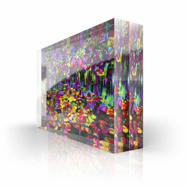 Acrylglass Sculpture Cornelia Hagmann Contemporary Artist Acrylglas Skulpturen Fine Art Sculptures La Galleria Art & Design PEACE